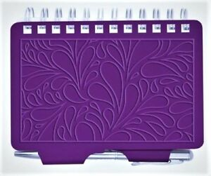 8967-WELLSPRING-TERRACE-PURPLE-EMBOSSED-PASSWORD-ORGANIZER-BOOK-WITH-PEN