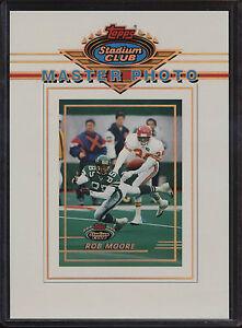 1993-Topps-Stadium-Club-5x7-Master-Photo-Rob-Moore-Philadelphia-Eagles