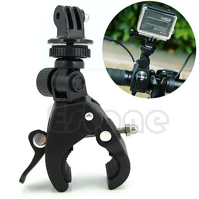 New Camera Handlebar Tripod Mount+Adapter Clamp Roll Bar For GoPro Hero 1 2 3 3+