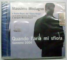 MODUGNO MASSIMO GIPSY KINGS QUANDO L'ARIA MI SFIORA CD SEALED