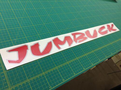Proton Jumbuck Arena pickup tailgate decals stickers graphics 2002-2010