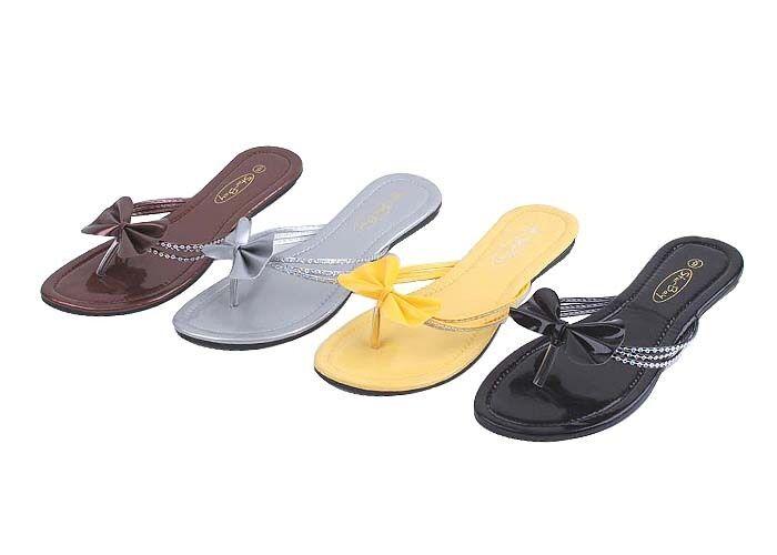 Women's Wholesale lot fashion Sandals Flip-flops 48 pairs 5-10 / 6-11 SB2521