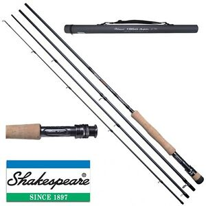 Shakespeare-NEW-Sigma-Supra-Fly-Fishing-Rod-Carbon-Case-Trout-Salmon