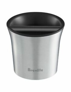 NEW Breville the Knock Box coffee grounds bowl BCB100 Grey