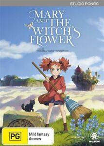 Mary-and-the-Witch-039-s-Flower-DVD-NEW-Region-4-Australia