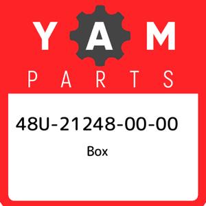 New Genuine OEM Part 48U-21248-00-00 Yamaha Box 48U212480000