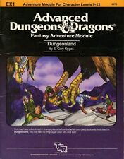 Advanced Dungeons and Dragons #9123 TSR 1984 VG+ CB1 Conan Unchained