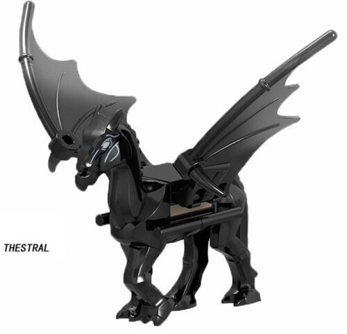 Harry Potter Thestral Magical Animal Black Pegasus Figure Building Blocks 2019
