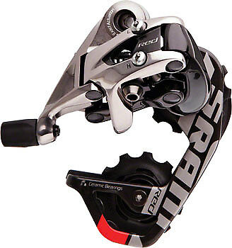 NEW SRAM 2012+ Red 10  Speed Short Cage Rear Derailleur FULL WARRANTY  free delivery
