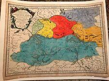 Sanson 1665 map Partie Lithuania Palatinat de Nowogrodeck Litaiski,Minsk XL size