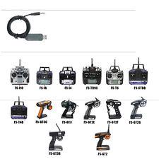 1024 Simulator USB Cable FS-SM100 fr FS-GT3B GT3 GT2 GT2E VRC TH9B-X FMS Popular