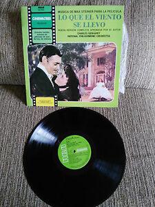 LO-QUE-EL-VIENTO-SE-LLEVO-SOUNDTRACK-LP-VINILO-VINYL-12-034-SPAIN-EDIT-VG-VG-1978