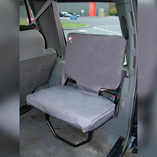 Land Rover Discovery 1 Imperméable Housses de siège en gris 2 boot sièges da 2809 Gris