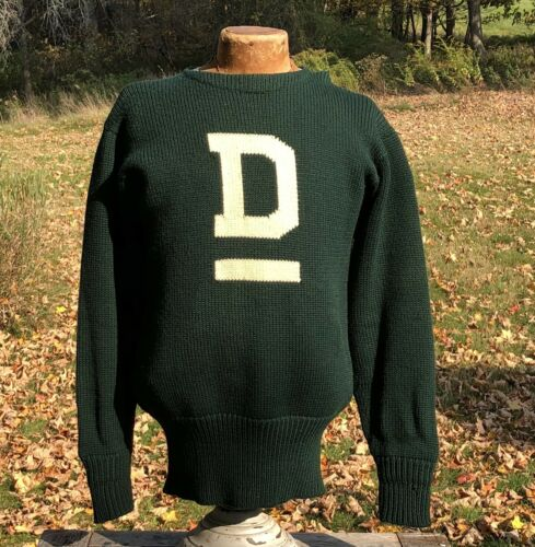 Vintage DARTMOUTH UNIVERSITY Letterman Sweater 195