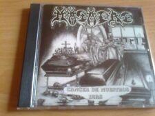 MASACRE - Colombia Imperio  / Cancer De Nuestros Dias CD First Press KRISIUN