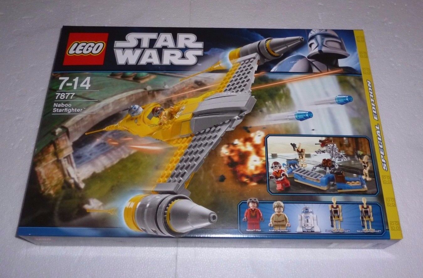 LEGO Star Wars Naboo Starfighter (7877) Neu   NEW OVP
