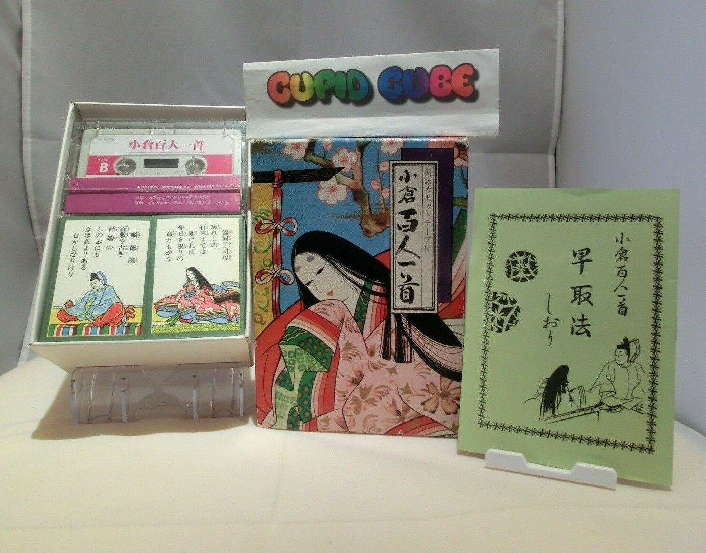 Venta al por mayor barato y de alta calidad. Ogura Hyakunin Isshu Karuta Japanese Naipes Envío Envío Envío Gratuito     ahorra hasta un 50%