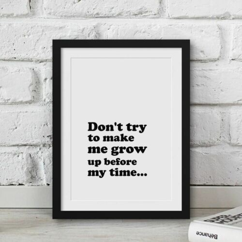 Little Woman Quotes Poster Feminist Wall Art Movie Prints Book Quotes Framed