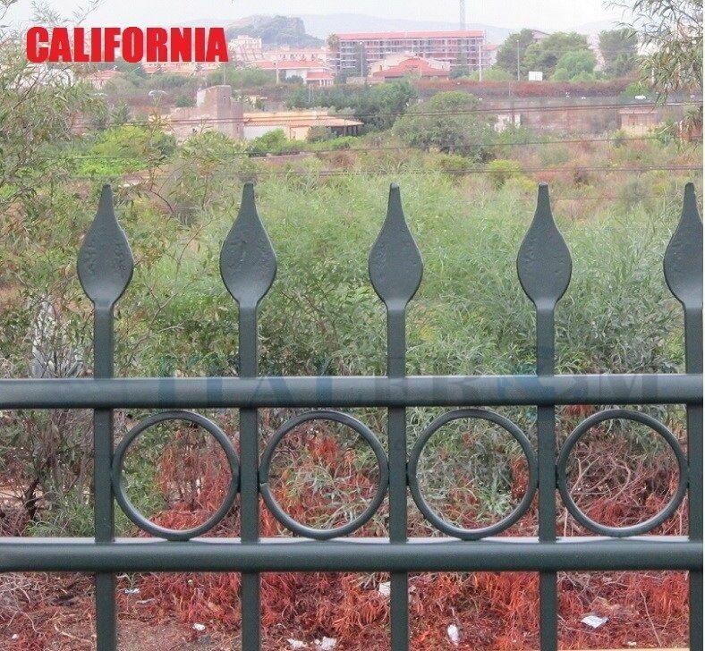 Zaun gartenzaun schmiedezaun eisenzaun schmuckzaun (California)