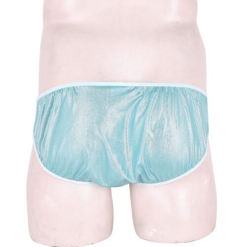US  Men/'s Sissy Panties Lace Lingerie Shiny Briefs Underwear Knickers Jockstrap