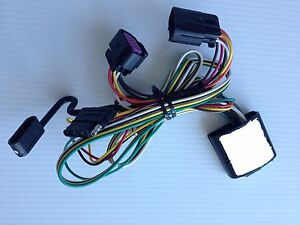 can am spyder f3 2015 trailer quick connect 4 flat pins wiring harness image is loading can am spyder f3 2015 trailer quick connect