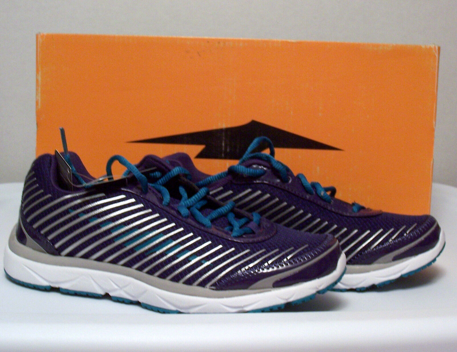 NIB AVIA Women's Athletic Running shoes Purple Teal Sizes 6, 6.5