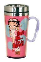 Betty Boop Nurse Insulated Travel Mug, Pink, New, Free Shipping