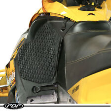 Ski-Doo REV (03-07) XRS 600/800 PDP Diamond Grip SNOWMOBILE Knee Pads 3M - BLACK