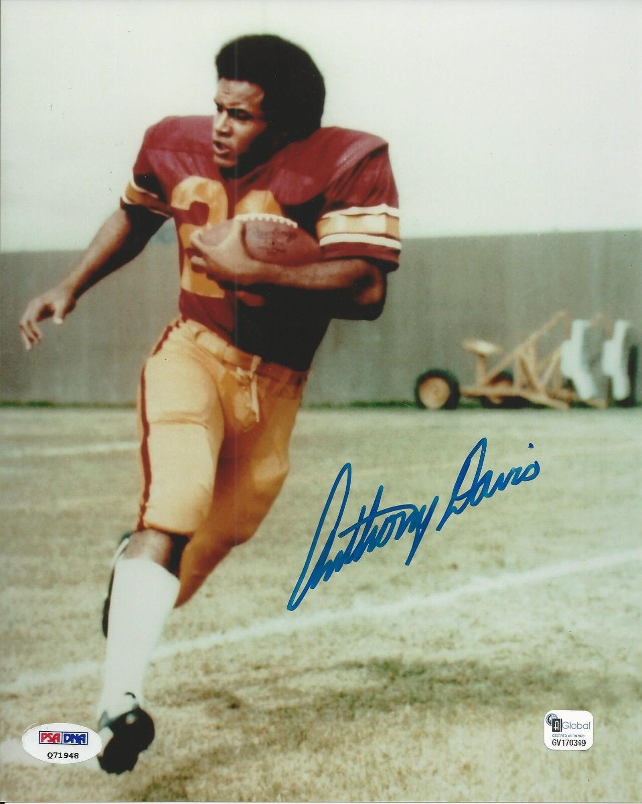 Anthony Davis Signed USC Trojans 8x10 Photo PSA/DNA #Q71948