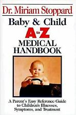 Baby and Child A-Z Medical Handbook (Perigee), Stoppard, Miriam, Good Condition,