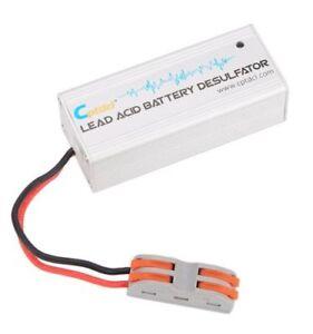 Silver-12V-Lead-Acid-ATV-Motorcycles-Boat-Battery-Desulfator-Battery-Maintainer