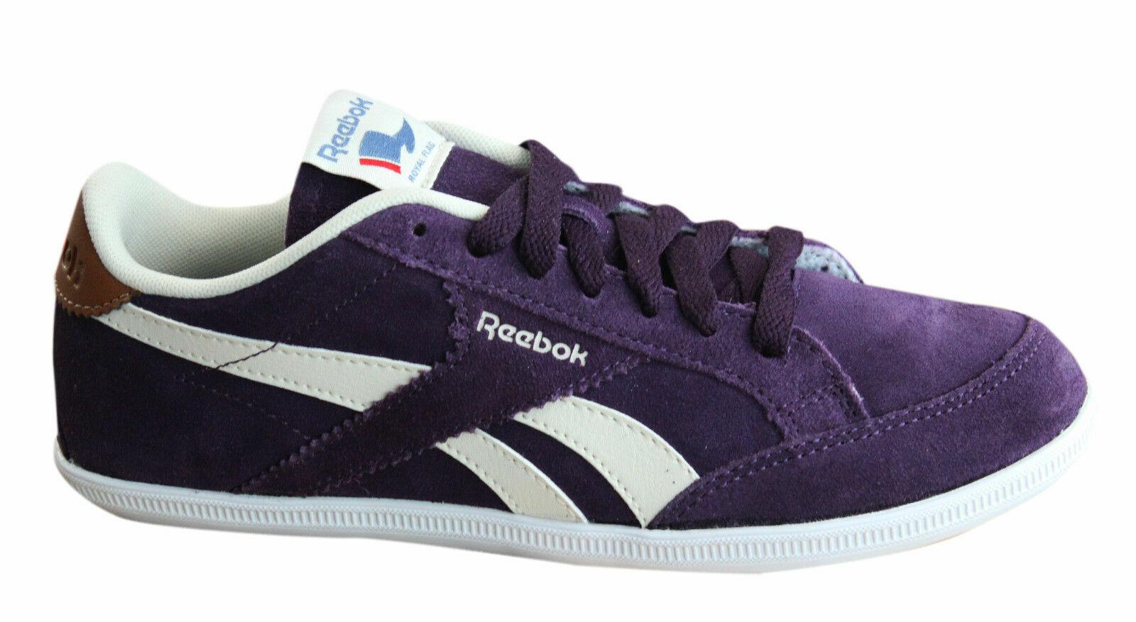 Reebok Classique Royale Transport Femmes Chaussures lacées Violet Formateurs