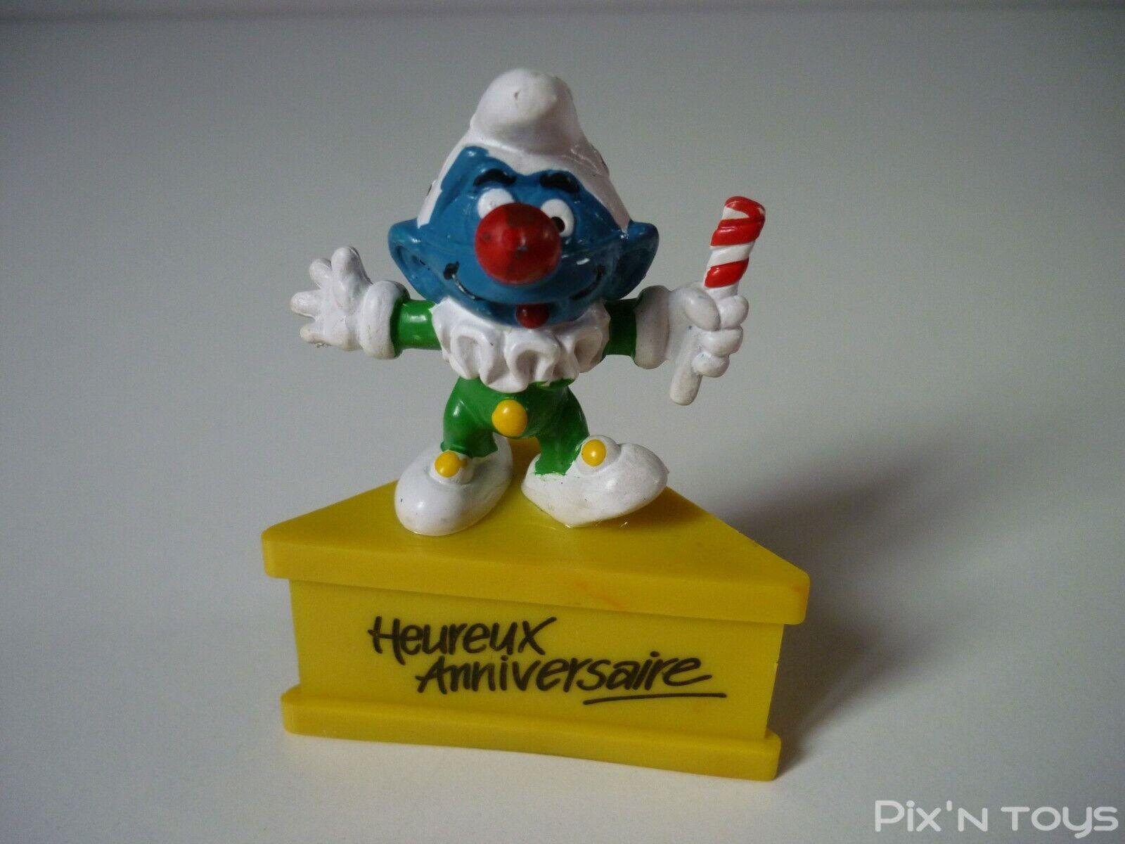 Schlumpf smurfs  smurf figurine 8010858 happy birthday-schleich  meilleure qualité