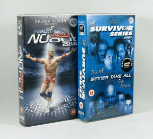 WWF-No-Way-Out-2001-amp-Survivor-Series-2001-2-x-VHS
