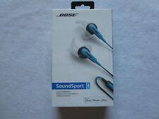 Bose soundsport blk/blue headphones