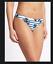 M/&s Bikini Bleu /& Blanc Floral Rembourré Plongeant Haut Rabattable Slips Mix /& Match
