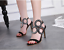 Fashion-Women-Peep-Toe-High-Heel-Strap-Buckle-Sandals-Stilettos-Party-Prom-Shoes thumbnail 1