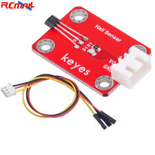 A3144 Hall Effect Sensor Module Jst 254mm Connector 3p Plug Cable For Arduino