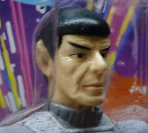 Ambassador MOC Playmates Star Trek Next Gener POG or CARD TNG Spock