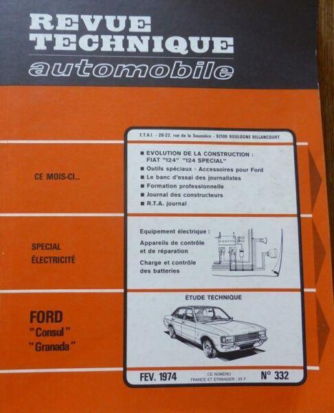 2019 Nieuwe Stijl Neuf De Stock Ford Consul Granada Revue Technique Rta 332 1974 Fiat 124 Special Fijn Vakmanschap
