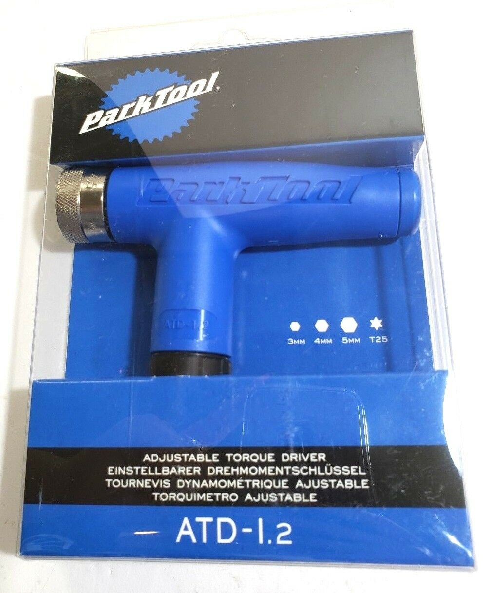Park Park Park Tool ATD-1.2 Adjustable 4 4.5 5 5.5 6Nm Bike Torque Wrench 3 4 5mm Hex T25 f98768