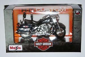 Maisto-Harley-Davidson-2002-FLHRSEI-CVO-Custom-Model-Scale-1-18