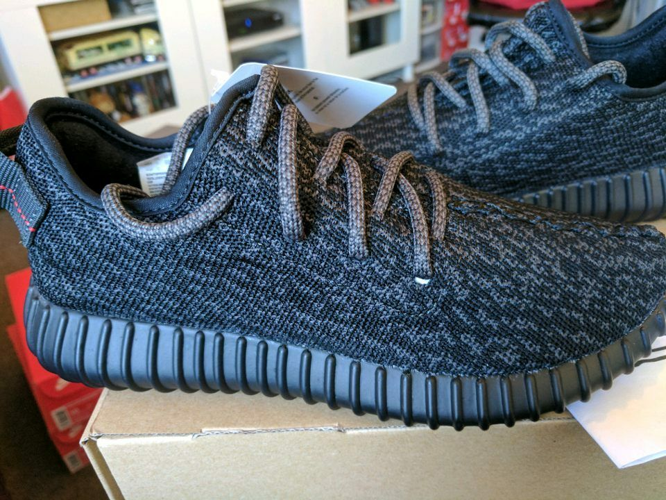 3493623652e adidas Yeezy 350 Boost Low Kanye West 2016 Pirate Black 2.0 Bb5350 ...