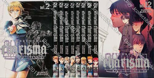 After school Charisma English Manga Graphic Novels Brand NEW Vol.2,3,5-12