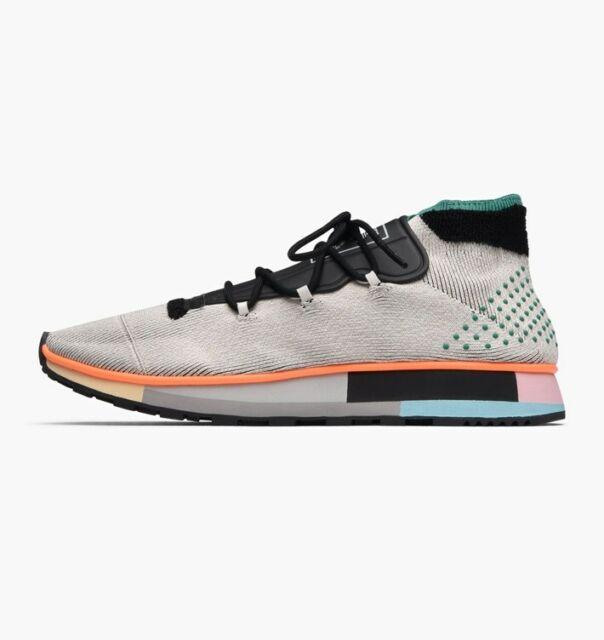 Adidas AW Alexander Wang Men Women Skate Run Mid Gray AC6845 Sz 4 12