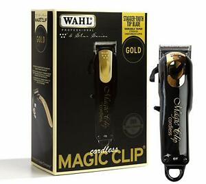 Wahl-Professional-5-Star-Limited-Edition-Black-amp-Gold-Cordless-Magic-Clip