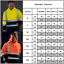 Mens-Hi-Viz-Vis-Visibility-Work-Hoodie-Sweatshirt-Reflective-Zipper-Coat-Jacket thumbnail 5