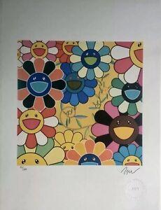 Murakami-Takashi-Lithographie-signee-et-numerotee