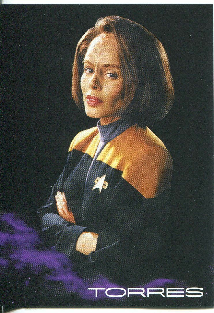 Star Trek Voyager H/&V Black Gallery Chase Card BB4 Robert McNeill as Paris