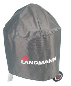 Landmann-Wetterschutzhaube-Premium-Abdeckhaube-Kugelgrill-Abdeckung